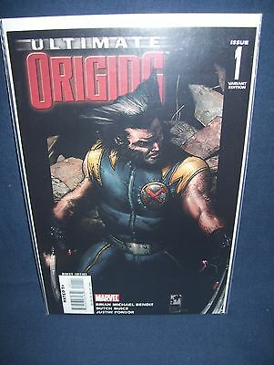 Ultimate Origins #1 Wolverine Variant Cover NM with Bag & Board Marvel Comics