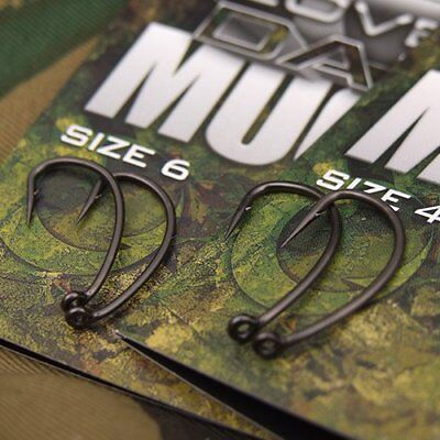 Gardner Tackle Covert Dark Mugga Hooks Only £4.20 Post Free