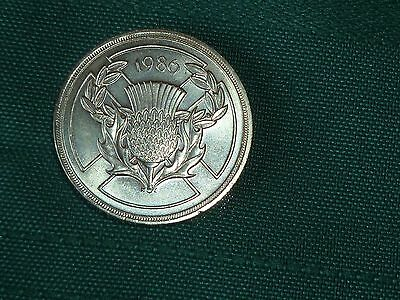 1986 Uncirculated £2 Coin Commonwealth Games Two Pounds