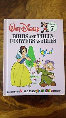 Walt Disney Bantam book - Birds and Trees, Flowers and bees (Volume 7)(1984)