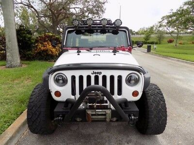 2010 Jeep Wrangler Rubicon Sport Utility 2-Door 2010 WRANGLER RUBICON SIGNIFICANTLY UPGRADED RAISED SUSPENSION FLOOD LIGHTS FL