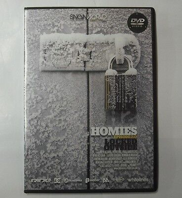 HOMIES Ep.2 Locked Outside Snowboard DVD 2009 Snowboarding