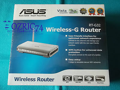 ASUS Router Wireless G RT-G32