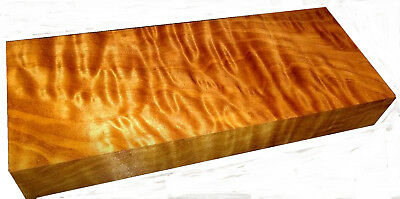 Beautiful Quilted Maple block (270x110x38mm)