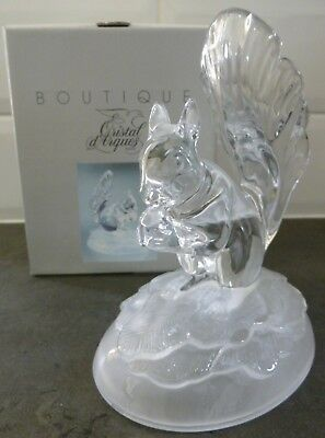 Crystal D'arques..boutique..squirrel..24% Lead Crystal..boxed