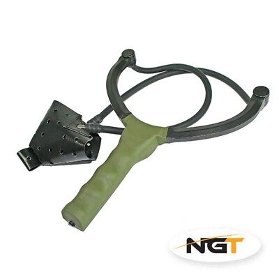 Ngt Catapult Quality Made Carp Fishing For Bait Boilies Pellets Feed Green