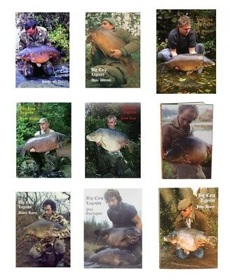 Big Carp Legends Books: Save £19.95 off RRP (9 Different Titles Available)