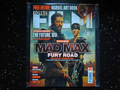 """TOTAL FILM MAGAZINE #231 - """"Mad Max Fury Road"""" Cover May 2015"""