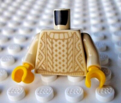 Lego Cable Knit Jumper minifigure upper (ideas old fishing store series torso)