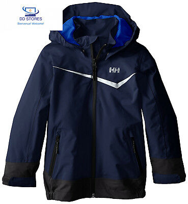 Helly Hansen K Shelter Jacket Giacca, Evening Blue, 6