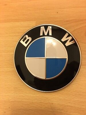 original bmw 3d emblem logo motorhaube 51148132375 8 132 375 05 eur 11 00 picclick de. Black Bedroom Furniture Sets. Home Design Ideas