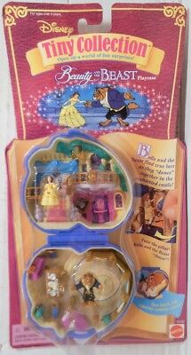 NEW Disney's Tiny Collection - Beauty and the Beast Playcase (#14192, 1995)