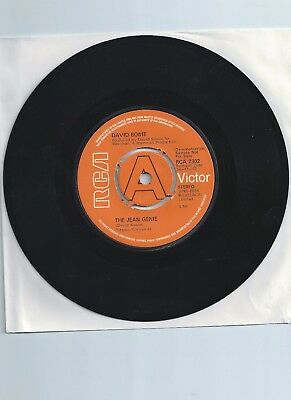 "David Bowie Jean Genie Demo 7"" Single"