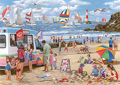 The House Of Puzzles - 500 BIG PIECE JIGSAW PUZZLE - Regatta Day Big Pieces