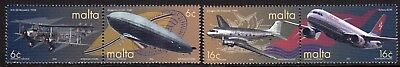 Malta 2000 Air Transport set fine fresh MNH