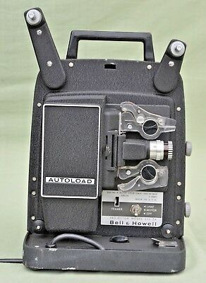Vintage Bell & Howell 256 EX Autoload 8mm Film Projector Home Movie