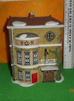 Dept. 56   Dicken's Village  [ King's Road Post Office ]  Porcelain  Used