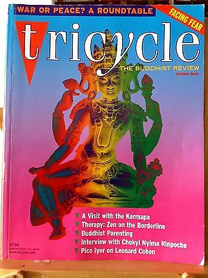 Tricycle The Buddhist Review Vol XI No 3 Spring 2002 US Magazine War Peace Fear