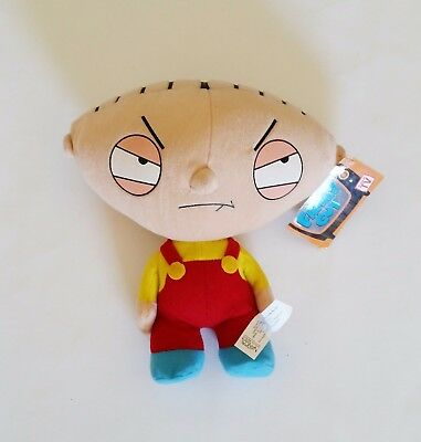 Family Guy Stewie Plush Doll  9 Inches Toy Nanco 2006