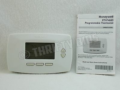 honeywell rth7400d 5 1 1 day programmable thermostat used fully rh picclick com