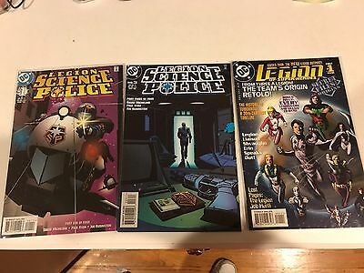 lot of 38 Legion of Super heroes from 1989 to 2011 VF/NM. Lost Secret Files more