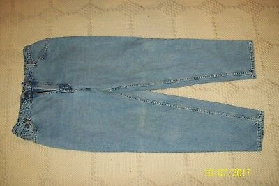 """Vintage"" High Waist Mom jeans  Levi's denim  550 Relaxed Tapered Sz 14 Reg M"