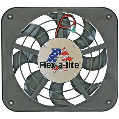 Flex-A-Lite 111 Lo-Profile S-Blade Electric Fan