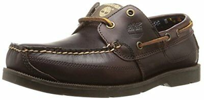 Timberland Ekkiawahby, Chaussures bateau homme, Marron (Brown), 50