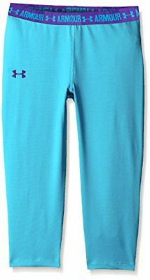 Under Armour fille Fitness Capri, Fille, Fitness Capri, Meridian Blue, L