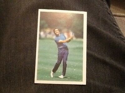 Seve Ballesteros / Golf / A Question of Sport game card / 1987