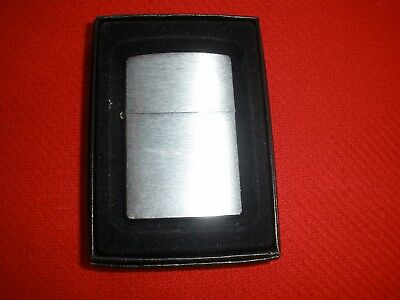 Zippo Chrome Lighter with Box Plain