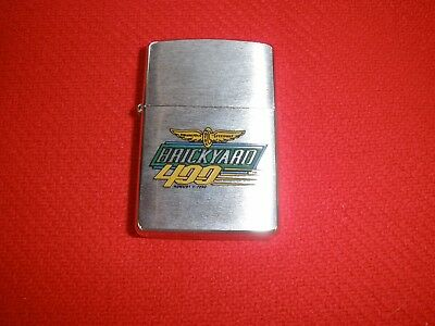 Zippo Chrome Brickyard 400 Lighter Sealed August 1, 1996