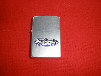 Zippo Chrome Brickyard 400 Lighter Sealed August 2000