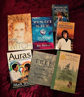 "L@@k!""new Age"" ""women's Magic & Ritual""  Psychic Pagan Wiccan Book Lot- Bj36"
