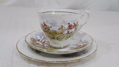 Royal Standard trio  Vintage Fine Bone China England