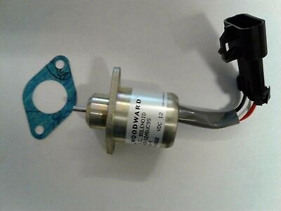 Woodward Shutdown Solenoid Model 1503ES-12A5UC9S P/N SA4561T For Kubota Yanmar C