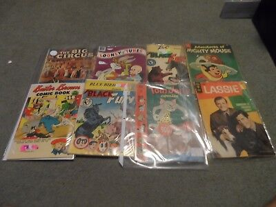 Lot of 8 Vintage Comics Books