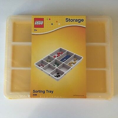 Lego Storage Sorting Tray 4096 Yellow -- NEW SEALED