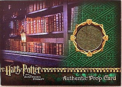 Harry Potter-SS-AUTHENTIC-Prop Card-Restricted Section Library Book-#'d to 485