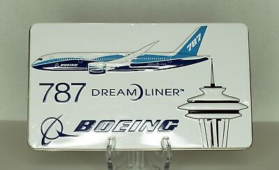 BOEING 787 DREAM LINER Promotional Tin Aviation Commercial Aircraft