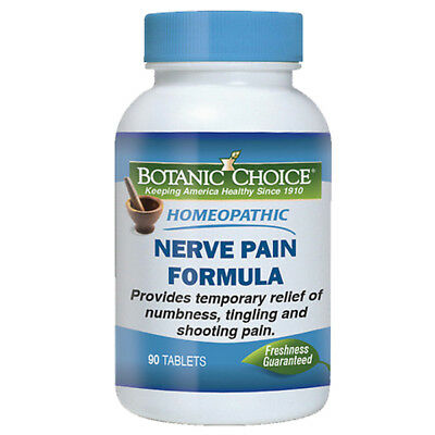 Homeopathic Nerve Pain Formula Muscle/Back/Legs/Shoulder/Arm Relief 90 Tabs