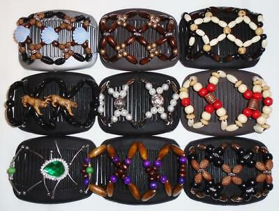 """Double Magic Hair Combs, Angel Wings Clips 4x3.5"""", Butterfly, Best Quality S54"""