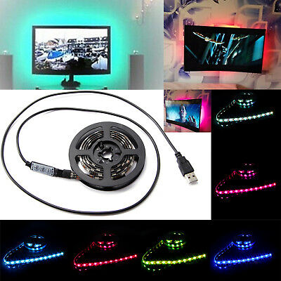 5050 Flexible Usb Multicolores Tv Strip Led Rgb Ruban Lampe 80PwkNOXn