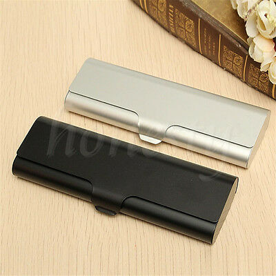 Hard Metal Glasses Case Protable Travel Eyeglasses Cases Spectacle Box Protector