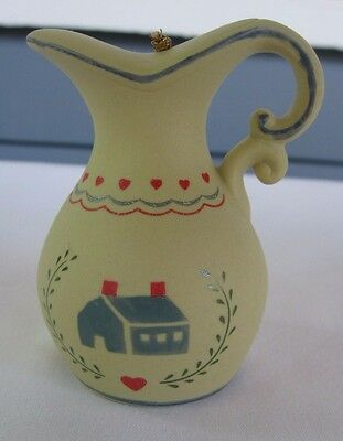 Vintage Miniature Ceramic/Porcelain Bell ~ 1986 W.A. Taiwan