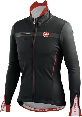 Castelli Espresso 3 Windstopper Cycling Jacket Black Large