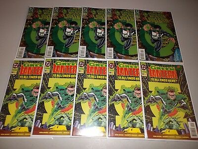 Green Lantern #50 & #51 (5 Copies of Each, Lot of 10)  1994 Kyle Rayner