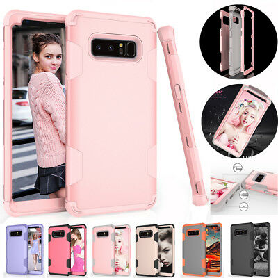 For Samsung Galaxy Note 8 Hard Shockproof Full Protect Case Hybrid Rubber Cover