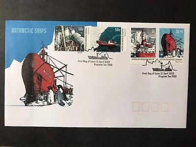 2003 Ships Australian Antarctic Territory  First Day Cover