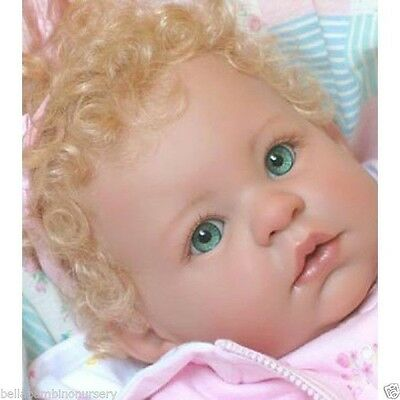 ~KeMpEr SuSiE SyNtHeTiC  MoHaiR WiG StRaWbErRy 16/17 ~ REBORN DOLL SUPPLIES